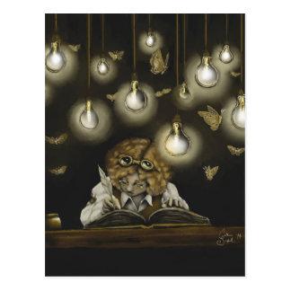 """""""Illumination"""" collectible postcard"""
