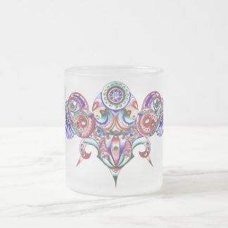 Illumination Frosted Glass Mug