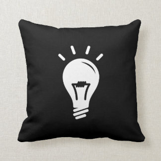 Illumination Pictogram Throw Pillow Cushion