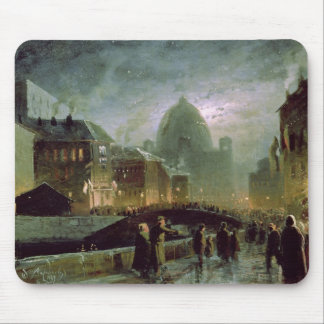 Illuminations in St. Petersburg, 1869 Mouse Mat