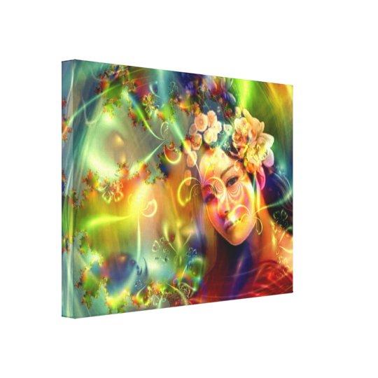 Illuminations of Love Canvas Print