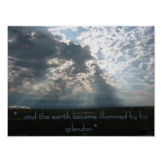 """Illumined"" Poster"