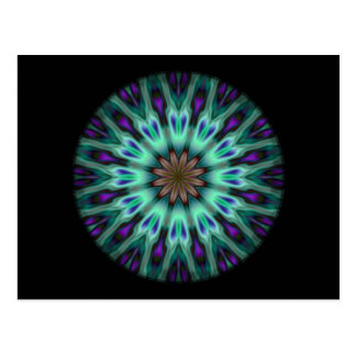 Illuminous Spirograph Postcard