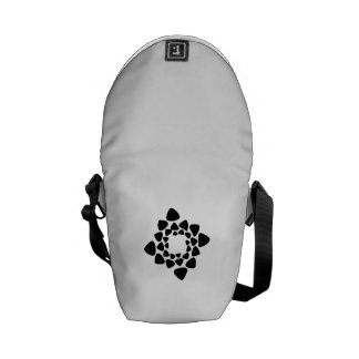 Illusion Art Messenger Bag