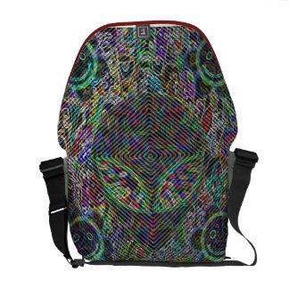 illusion bag courier bag