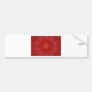 Illusion Bumper Sticker