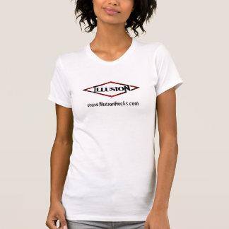 Illusion camisole, logo & wesite t shirt