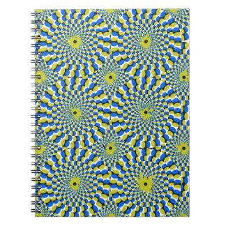 Illusion circle notebook