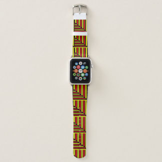 Illusion of Boxes Neutral Apple Watch Band