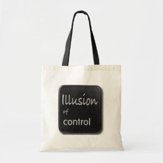 Illusion of Control Button Bag