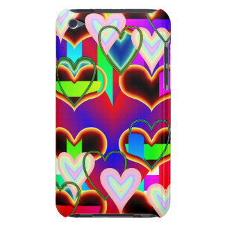 Illusion of the Hearts by Kenneth Yoncich iPod Case-Mate Cases