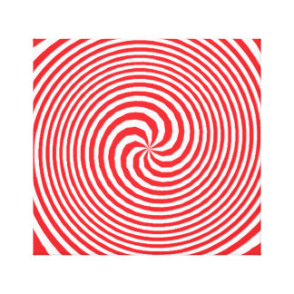 illusion stretched canvas prints