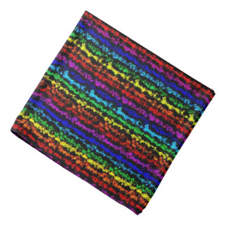 Illusional Rainbow Bandana