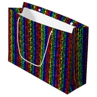 Illusional Rainbow Large Gift Bag