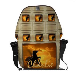 Illusive Stallion Courier Bags
