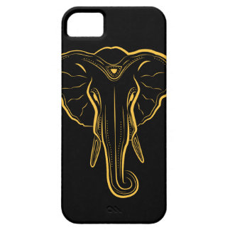 Illustrated Elephant Phone Case