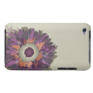 Illustrated Flower Barely There iPod Covers