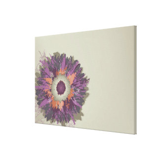 Illustrated Flower Canvas Print