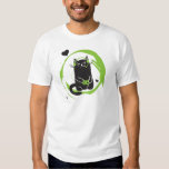 Illustrated Gamer Cat Shirts