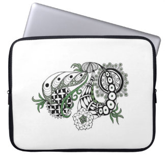 Illustrated Laptop Computer Protective Cover Laptop Sleeves