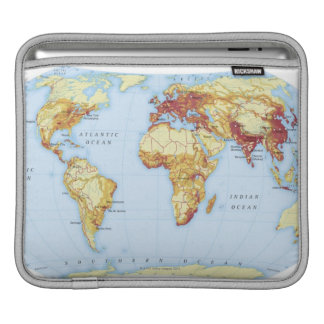 Illustrated Map 3 iPad Sleeve