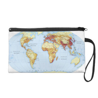 Illustrated Map 3 Wristlet