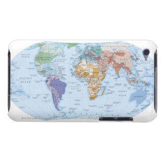 Illustrated Map 4 Barely There iPod Cover