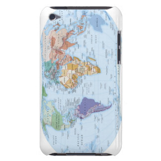 Illustrated Map 4 iPod Touch Case-Mate Case