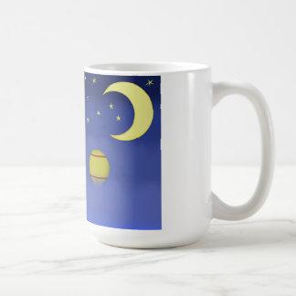 Illustrated Night Sky Coffee Mug