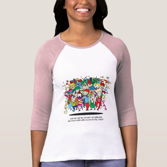 Illustrated People Dancing T-Shirt