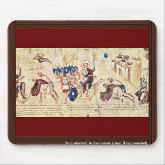 Illustrated Scroll Of The Scene Of Joshua: Joshua Mouse Pad