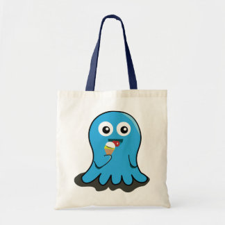 Illustrated Thing Character Tote Bag