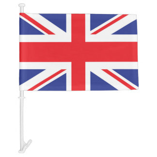 Illustrated version of the british flag
