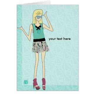 illustration #1 notecard card