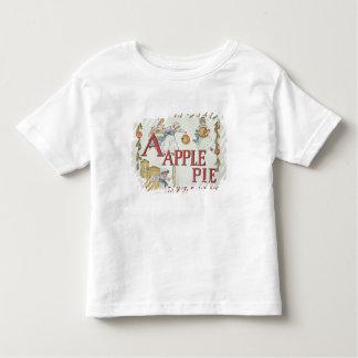 Illustration 'A' from 'Apple Pie Alphabet' Toddler T-Shirt