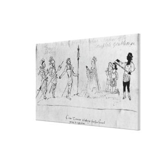 Illustration Andronicus, by William Canvas Print