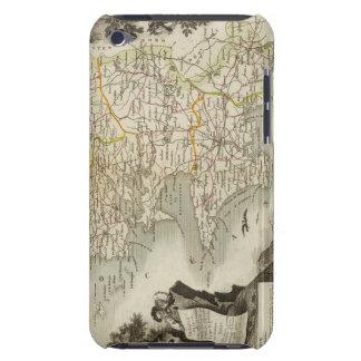 Illustration Atlas Maps iPod Case-Mate Cases
