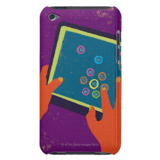 illustration barely there iPod cover