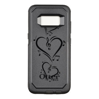 Illustration Clef Love Music OtterBox Commuter Samsung Galaxy S8 Case