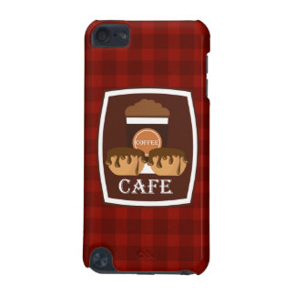 Illustration delicious cup of coffee iPod touch (5th generation) cases