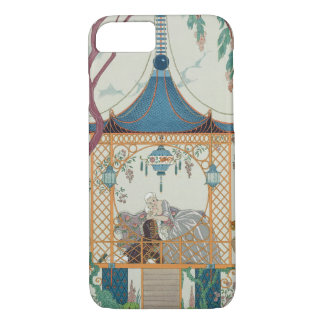 Illustration for 'Fetes Galantes' by Paul Verlaine iPhone 8/7 Case