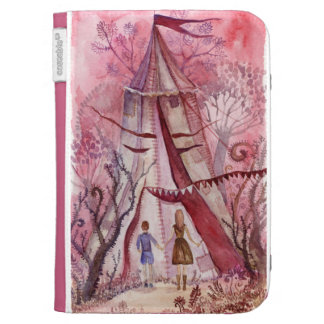 Illustration for Neil Gaiman book Case For Kindle