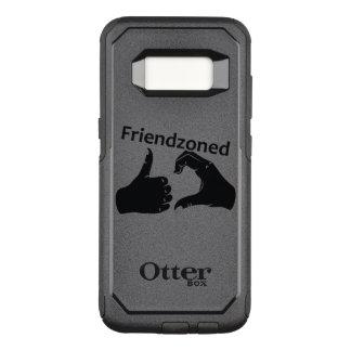 Illustration Friendzoned Hands Shape OtterBox Commuter Samsung Galaxy S8 Case