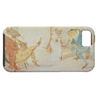 Illustration from 'A Frog He Would a Wooing Go' iPhone 5 Case