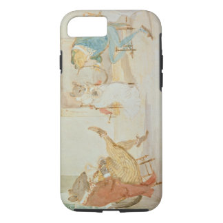 Illustration from 'A Frog He Would a Wooing Go' iPhone 7 Case