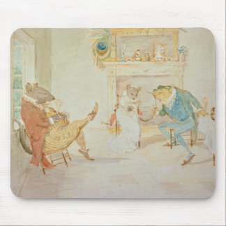 Illustration from 'A Frog He Would a Wooing Go' Mouse Pad