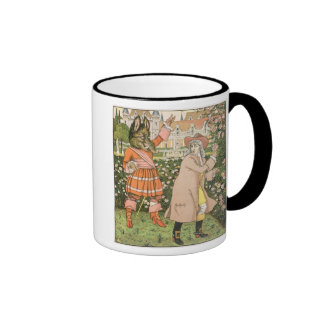Illustration from Beauty and the Beast, 1901 (colo Coffee Mugs