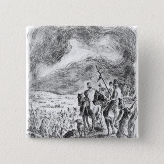 Illustration from 'Campana en el ejercito 15 Cm Square Badge