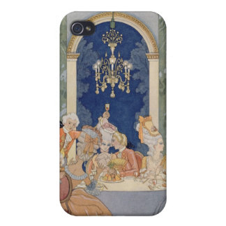 Illustration from 'Les Liaisons Dangereuses' by Pi iPhone 4 Case