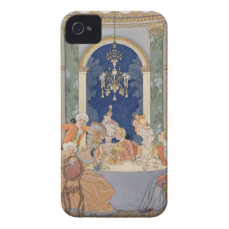 Illustration from 'Les Liaisons Dangereuses' by Pi iPhone 4 Covers